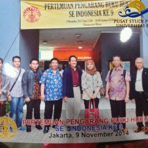 Pertemuan Penulis Buku Hukum se Indonesia ke-9