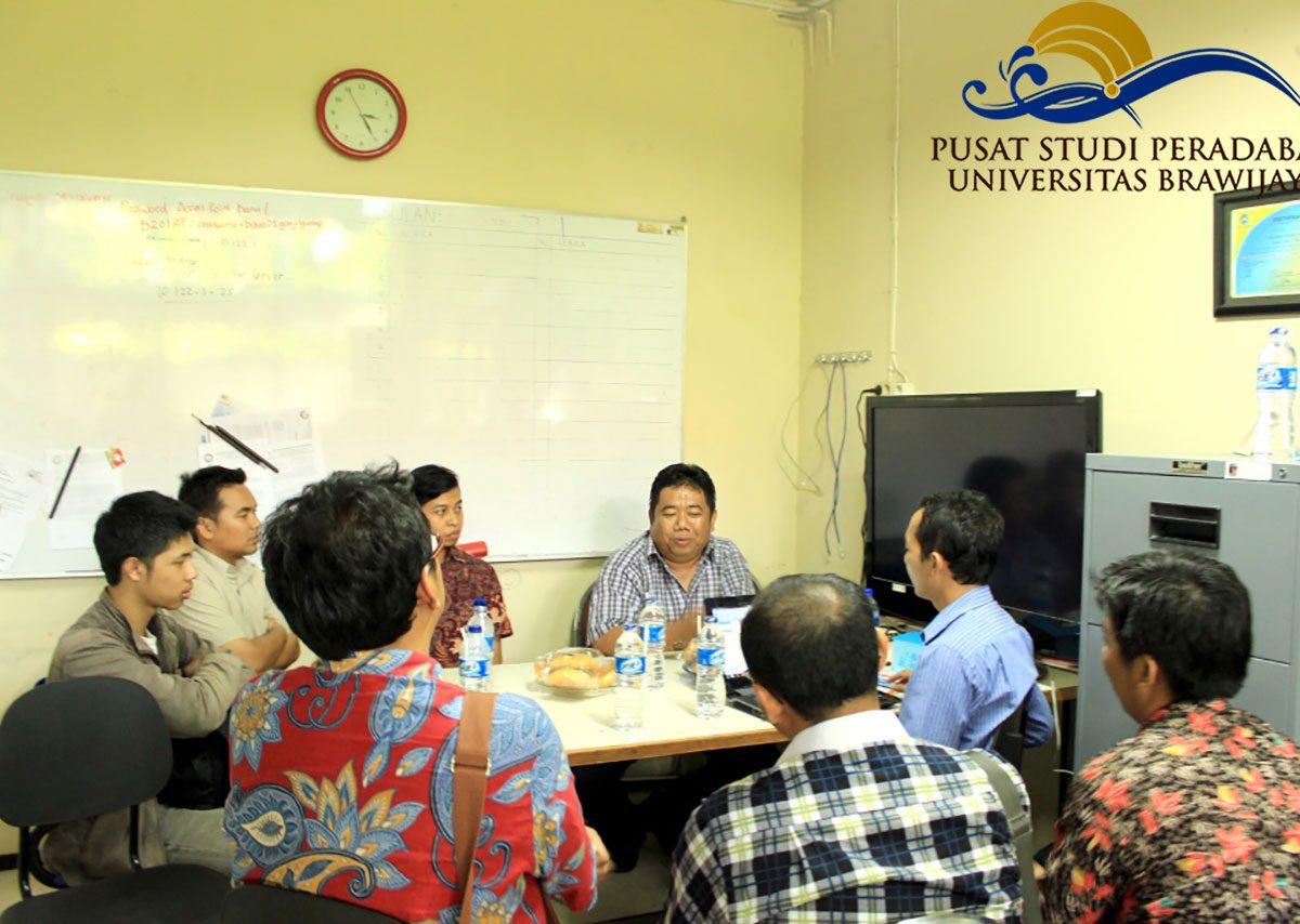 PSP; Pusat Studi Peradaban; Kunjungan; ITS; Virtual Museum; Selasa 18 November 2014; Puslit Peradaban; PPP; Pusat Penelitian Peradaban