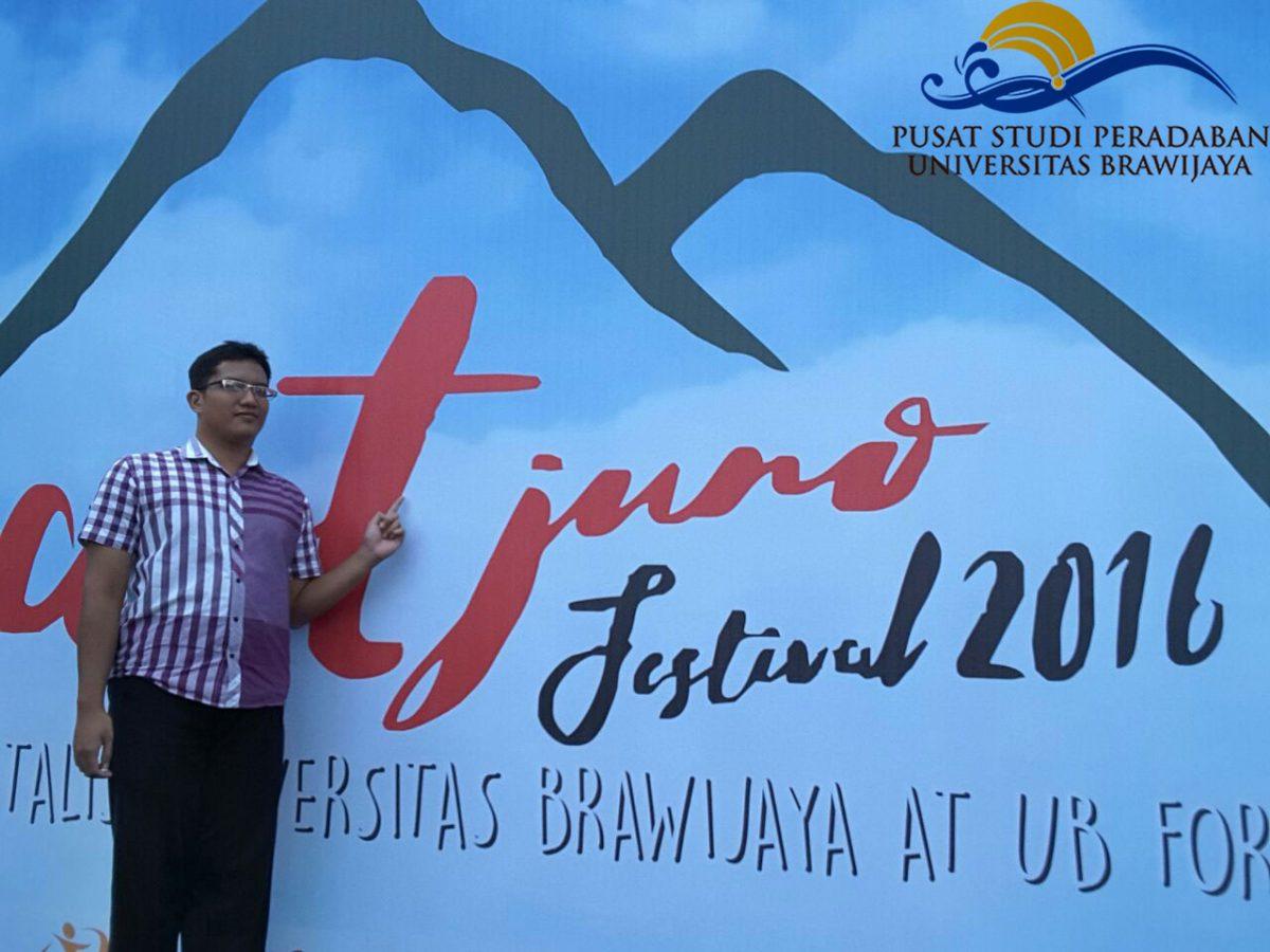 PSP; Pusat Studi Peradaban; Agus Guna Pratama; Muhammad Fajar Sidiq Widodo; Artjuno Festival; Dies Natalis; 54; Universitas Brawijaya; UB; UB Forest; 6 Januari 2017