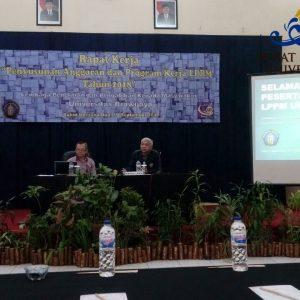 Rapat Kerja Penyusunan Anggaran dan Program Kerja LPPM Tahun 2018