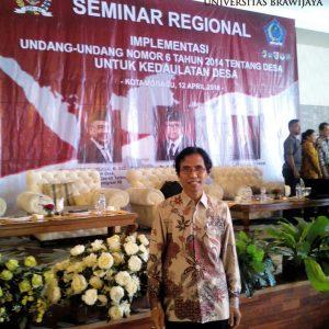 Seminar Regional Implementasi UU Nomor 6 Tahun 2014